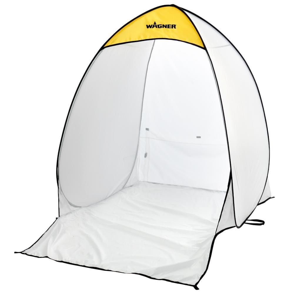 Wagner 4.7 ft. x 5.6 ft. White Polyester Medium Spray Shelter