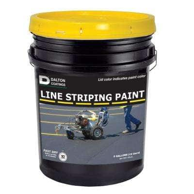 5 gal. Yellow Line Striping Paint