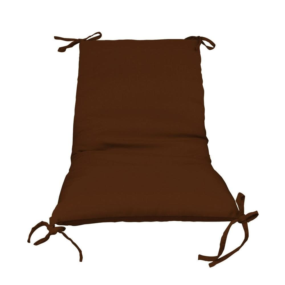 Paradise Cushions Bronze Solid 1-Piece Outdoor Sling Chair Cushion