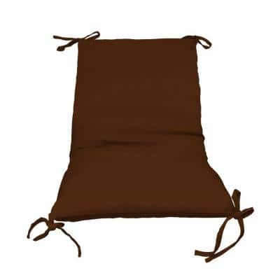Bronze Solid 1-Piece Outdoor Sling Chair Cushion