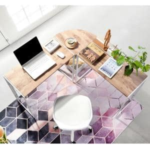 L-Shaped Computer Desk White Office Table