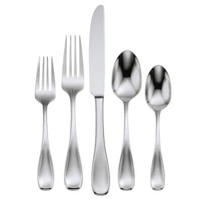 Voss 20-Piece Silver 18/0 Stainless Steel Flatware Set (Service for 4)