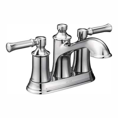 Dartmoor 4 in. Centerset 2-Handle Bathroom Faucet in Chrome