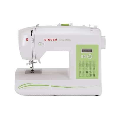 Sew Mate 60-Stitch Sewing Machine With Automatic Needle Threading