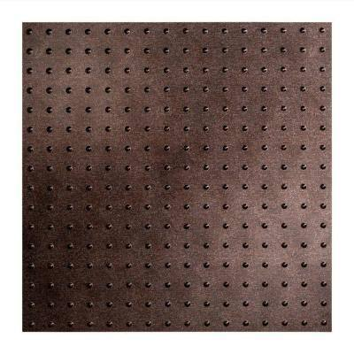 Minidome 2 ft. x 2 ft. Smoked Pewter Lay-In Vinyl Ceiling Tile (20 sq. ft.)