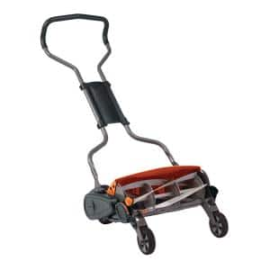 StaySharp 18 in. Cut Manual Push Non Electric Walk Behind Reel Mower