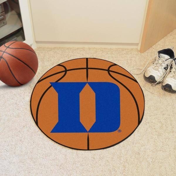 Reviews For Fanmats Ncaa Duke University Orange 27 In Round Basketball Area Rug 19572 The Home Depot