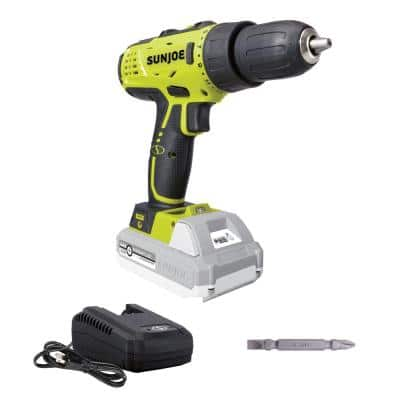 24-Volt 0.5 in. Chuck Lithium-iON Cordless Drill/Driver Kit with 2.0 Ah Battery + Charger