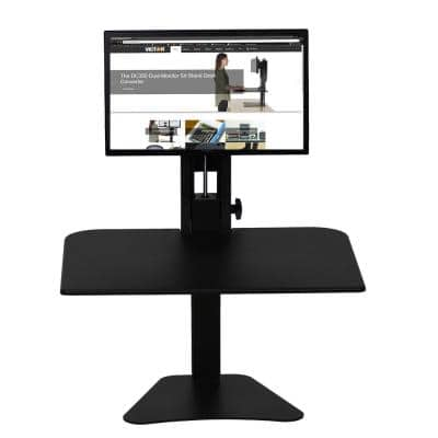 Manual Single Monitor Standing Desk