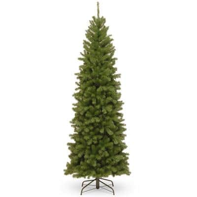 7.5 ft. North Valley Spruce Slim Artificial Christmas Tree