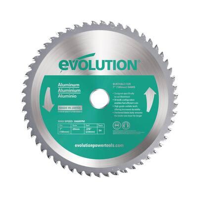 7 in. 54-Teeth Aluminum Cutting Saw Blade