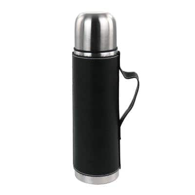 23 oz. Stainless Steel Thermal Travel Mug in Leatherette