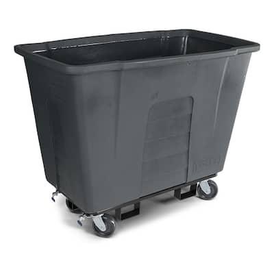 1 Cubic Yard 1,000 lbs. Capacity Mobile Truck - Gray