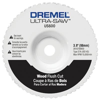 Ultra-Saw 4 in. Premium Carbide Wood and Plastic Flush Cut Wheel