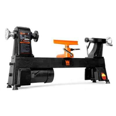 4.5 Amp 12 in. x 18 in. 5-Speed Benchtop Wood Lathe