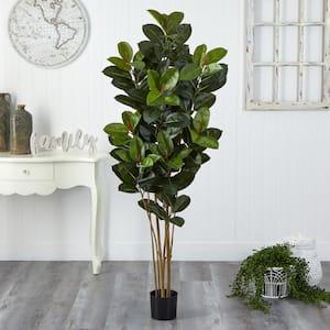 5.5 ft. Oak Artificial Tree UV Resistant (Indoor/Outdoor)