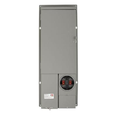 200 Amp 30-Space All-in-One UG/OH Semi-Flush (Solar Ready) Panel with Main Breaker