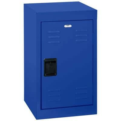 24 in. H x 15 in. W x 15 in. D Single-Tier Welded Steel Storage Locker in Blue