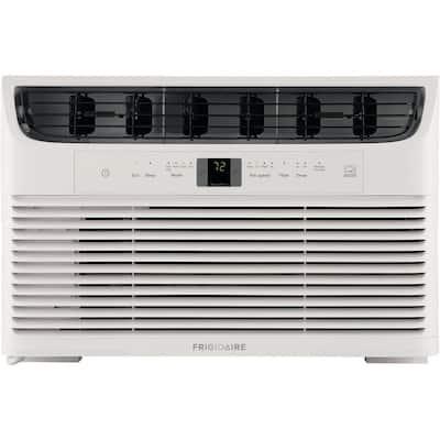 8,000 BTU 115-Volt Window-Mounted Mini-Compact Air Conditioner with Temperature-Sensing Remote Control