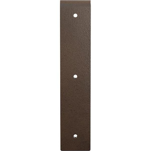 Lissage Kelle zahnkelle Inoxydable 2 arêtes irrégulières 10x10mm dentelé en acier inoxydable HAWE