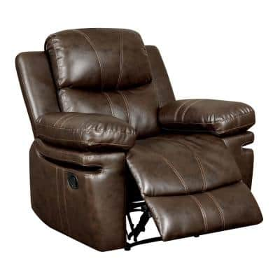 Listowel Brown Transitional Style Living Room Chair