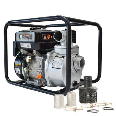 6.5 HP 2 in. Portable Utility Gas Powered Water Pump