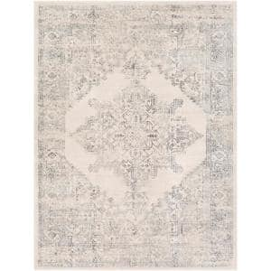 Saray Ivory 5 ft. 3 in. x 7 ft. 1 in. Area Rug