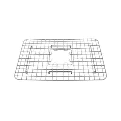 SinkSense Venturi 19.5 in. x 14 in. Bottom Grid for Kitchen Sinks in Stainless Steel
