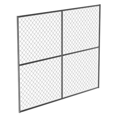 Galvanized Steel Barrier Panel Unit 90 in. x 72 in.