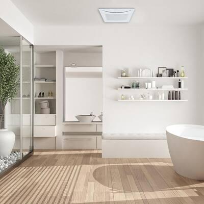 Ultra-Quiet 70 CFM Ceiling Quite Bathroom Exhaust Fan ENERGY STAR Crescent70