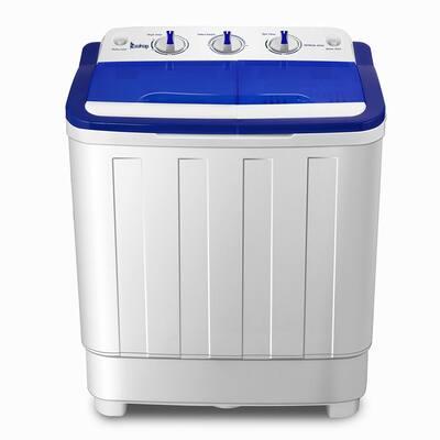 16.6 lbs. White Semi-Automatic Twin Tube Washing Machine