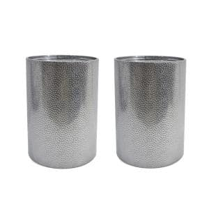 Brookhaven Silver Accent Table Set (Set of 2)