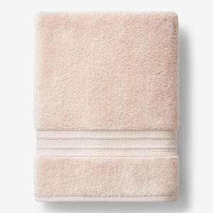 Cotton TENCEL Lyocell Blush Solid Bath Sheet