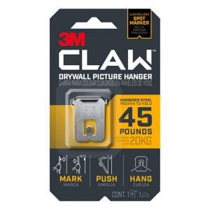 CLAW 45 lbs. Drywall Picture Hanger with Spot Marker