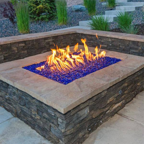 Fire Pit Essentials 18 In Stainless Steel H Burner With Coupler And Allen Wrench 18h The Home Depot
