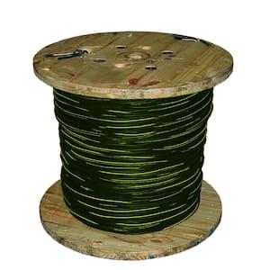 1000 ft. 1/0-1/0-2 Black Stranded AL Triplex Brenau URD Cable