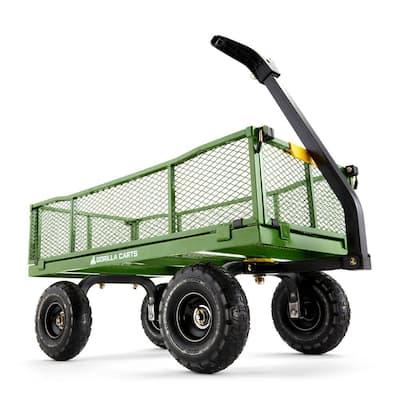 4 cu. ft. Steel Utility Cart