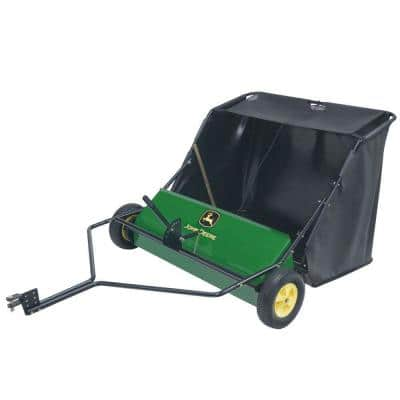 42 in. 24 cu. ft. Tow-Behind Lawn Sweeper