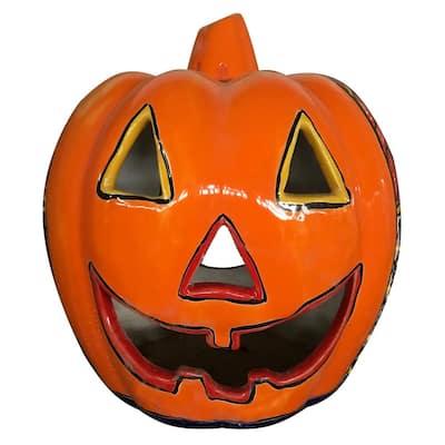 11 in. Orange Naughty Pumpkin