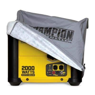 Weather Proof Custom Made Vinyl Inverter Generator Cover