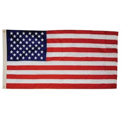 4 ft. x 6 ft. Nylon U.S. Flag