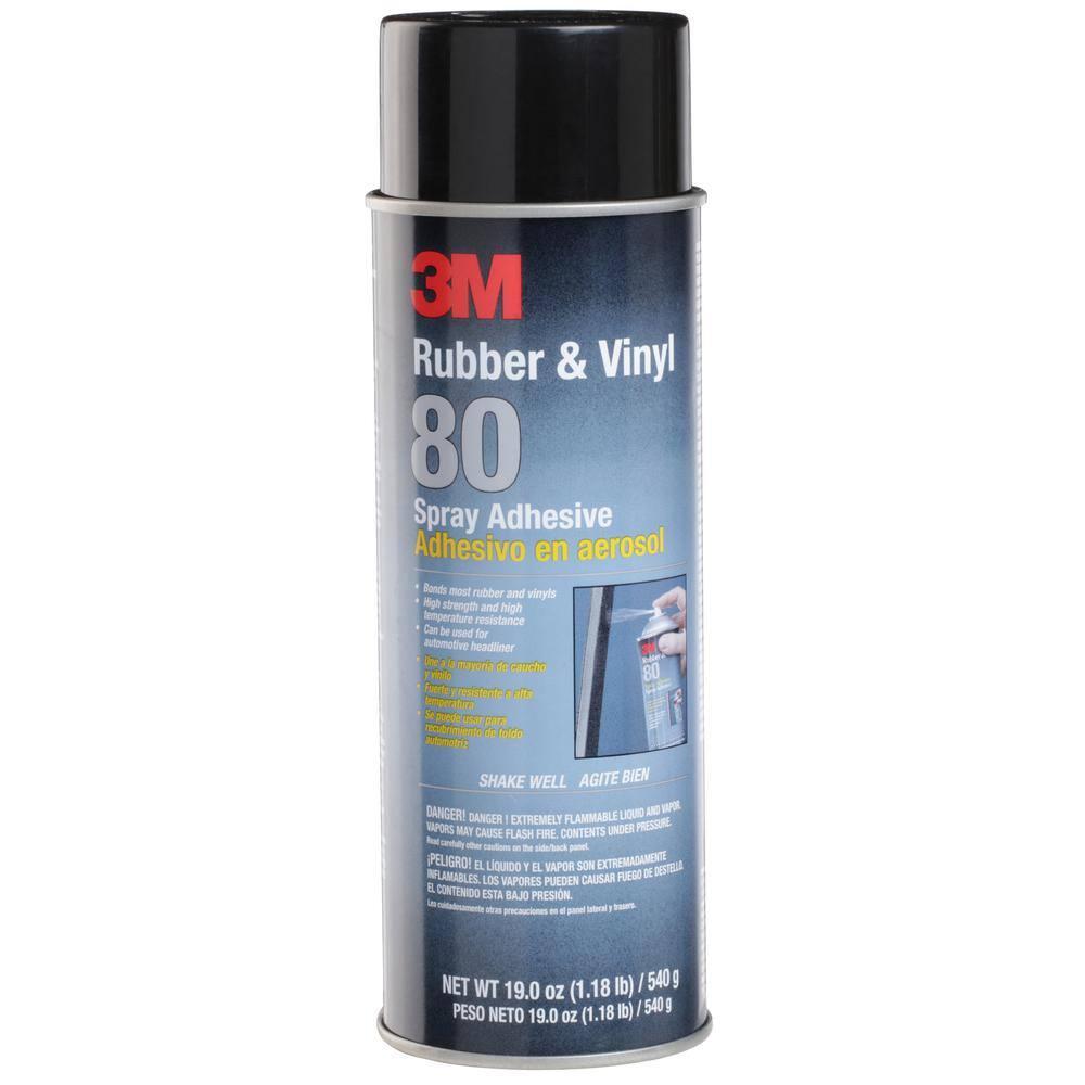 3M 19 oz. Rubber and Vinyl 80 Spray Adhesive