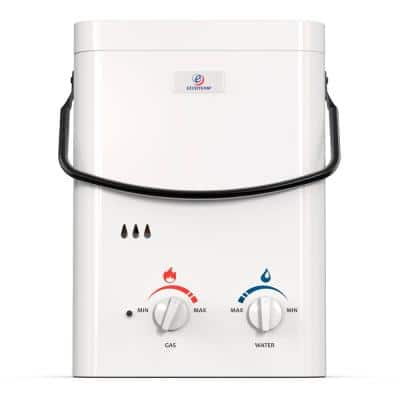 L5 1.5 GPM Portable 37,500 BTU Liquid Propane Outdoor Tankless Water Heater
