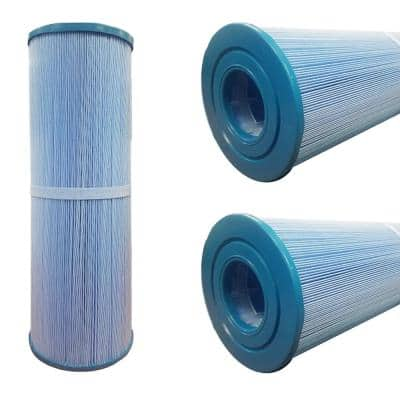 75 sq. ft. 5 in. x 14.5 in. Hot Tub Filter Open Ends Cartridge