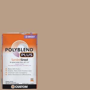 Polyblend Plus #380 Haystack 25 lb. Sanded Grout