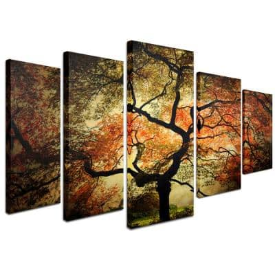 Japanese by Philippe Sainte-Laudy 5-Panel Wall Art Set
