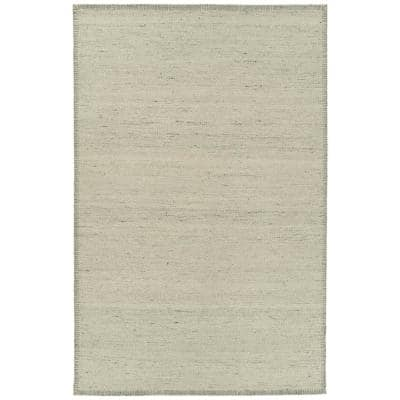 Stark Collection Beige 8 ft. x 10 ft. Rectangle