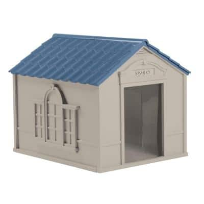 33 in. W x 38.5 in. D x 32 in. H Dog House