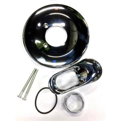 1-Handle Volume Control Trim Kit in Chrome for SAYCO/Briggs Shower Systems (Valve Not Included)