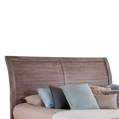 Aurora Gray King Sleigh Headboard